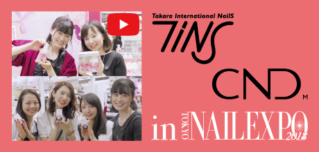 CND/TiNS in TOKYO NAIL EXPO 2018